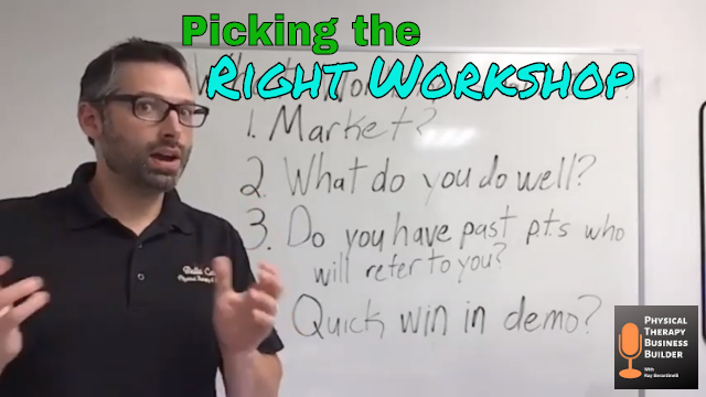 Picking the Right Workshop