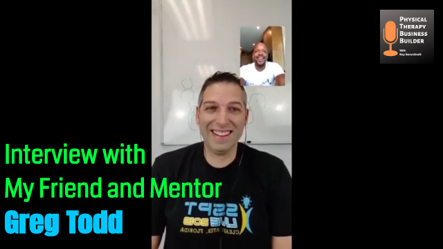 Interview with My Friend and Mentor Greg Todd